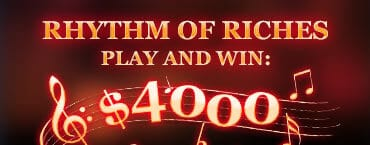 Rhythm of Riches Tournaments Guaranteed Cash Prizes