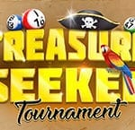 Enjoy The Treasure Seeker Tournament With Cash Prizes | Online Blingo