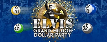Vics Bingo Offers The Elvis Grand Million Dollar Party | No Deposit Bingo Bonuses