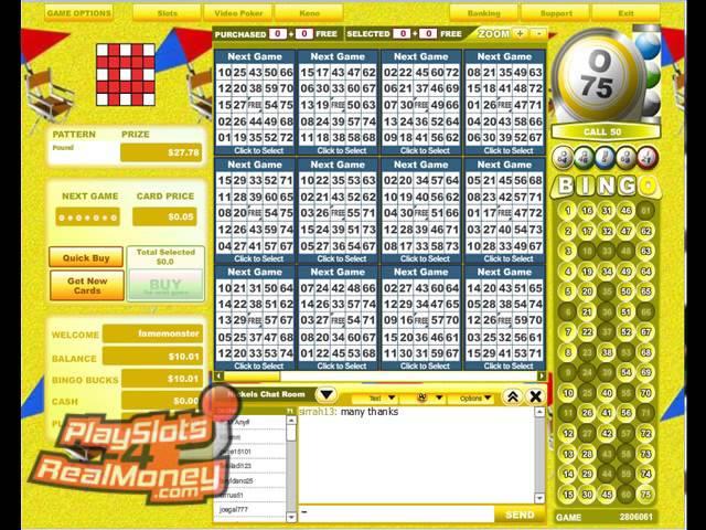 Best bingo sites to win money instantly