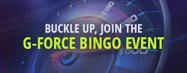 BingoForMoney USA Casinos G-Force Internet Bingo Tournament
