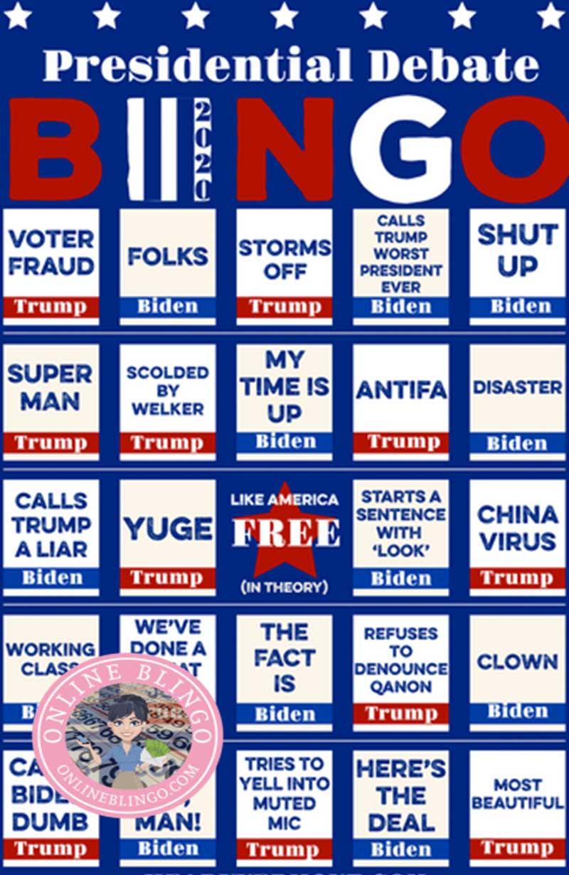 Debate Bingo News Enjoy The Latest Political Debate Bingo Games