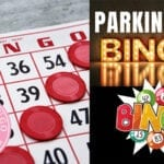 Senors Socialize And Have Fun Playing Bingo Games In A Parking Lot