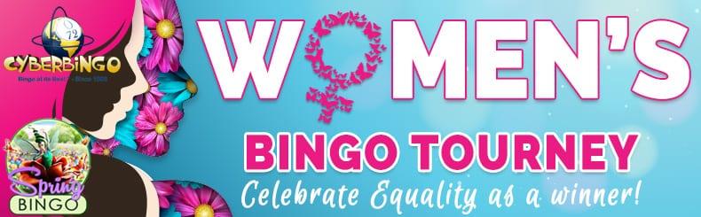 CyberBingo Casino Bonuses cyberbingos womens bingo tourney