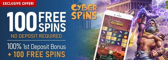 CyberSpins Casino Bonuses