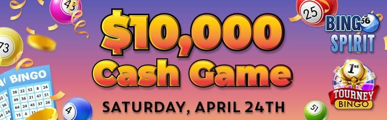 swim in cash in the 10000 big bingo event at bingospirit